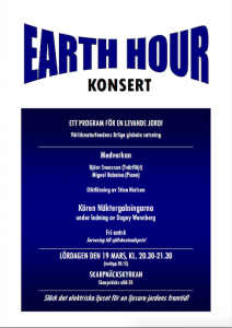 Affisch Earth Hour