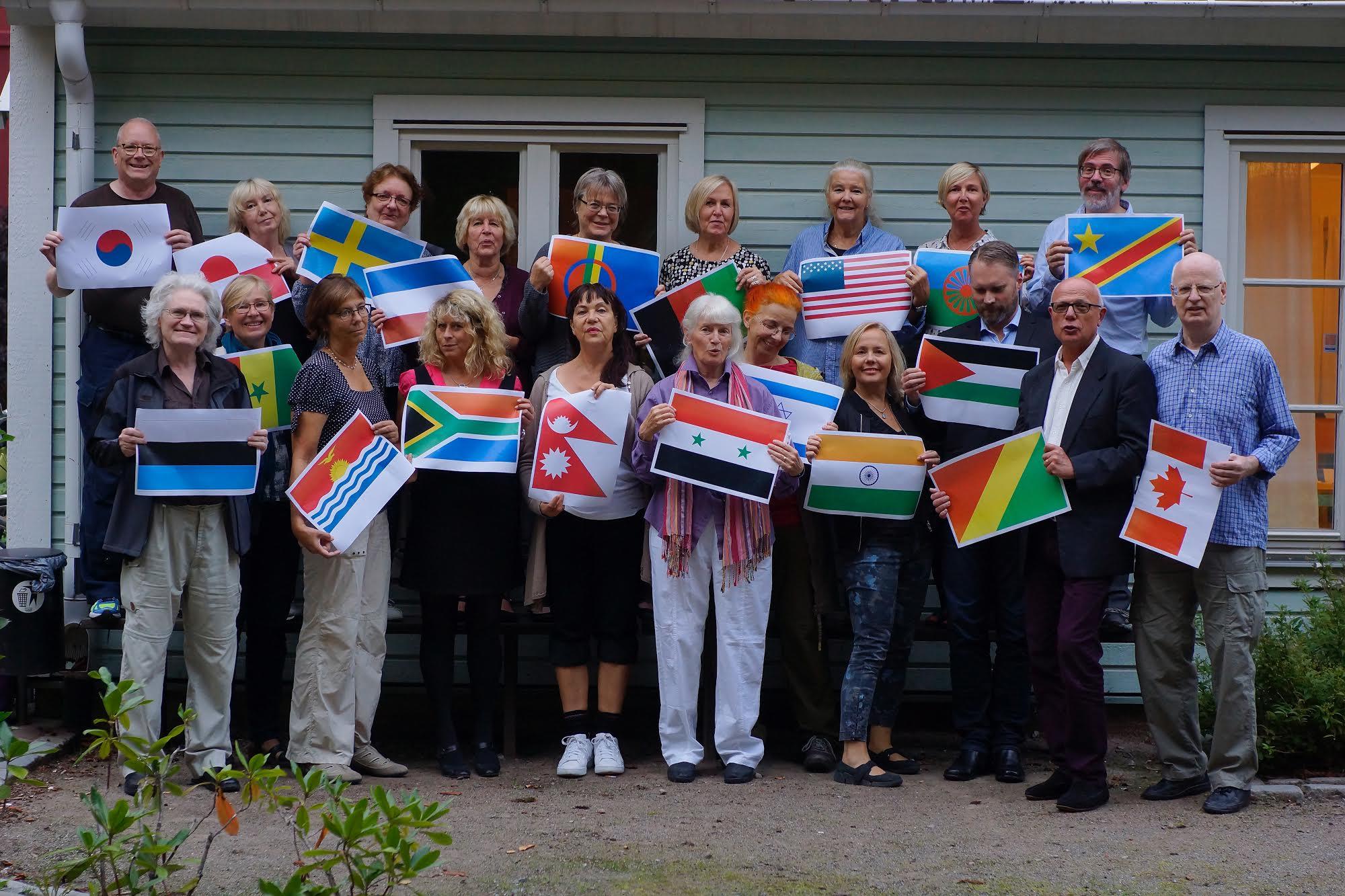 Näktergalningarna inför FN-dagen den 23 oktober 2016.Foto: Bo Zachrisson